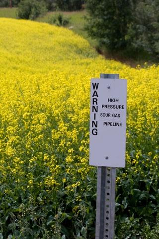 Natural Gas Warning