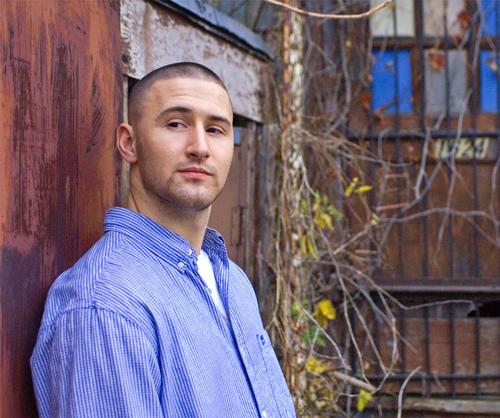 Hip-hop artist and business grad Charles Morgan, a.k.a. Aspektz