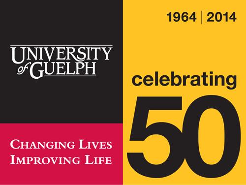 u of g introduces 50thanniversary logo u of g news