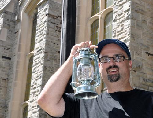 Ghost storyteller Greg Taylor