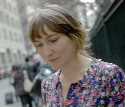 Writer-in-residence Sheila Heti.
