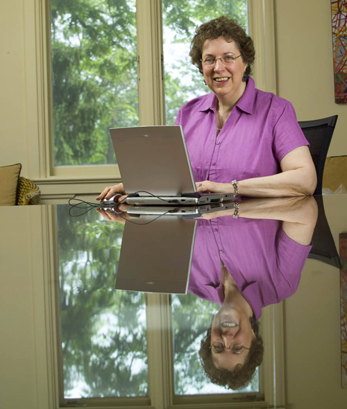 Prof. Donna Lero. Photo by Dean Palmer