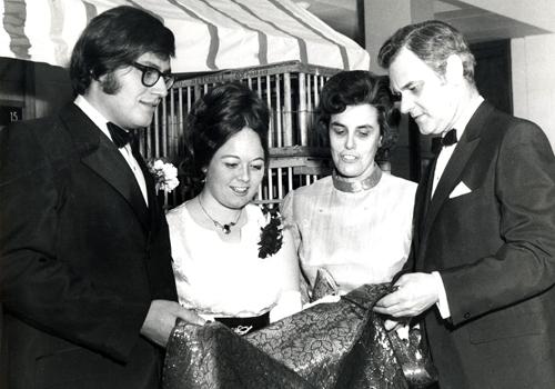 From left: Mario Finoro, Moira Bill Winegard