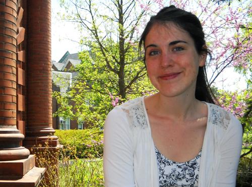 PhD student Andrea LaMarre