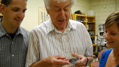Prof. Iain Campbell (centre)