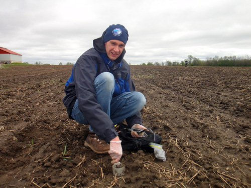 U of G geography professor Aaron Berg is studying soil conditions across Canada using satellite data.