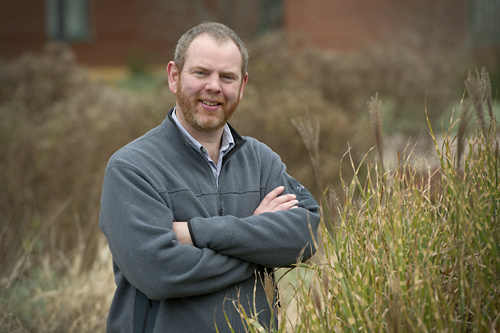 University of Guelph bee expert Nigel Raine.