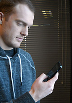 University of Guelph student Griffin Lacey will spend three months at Google headquarters working on mobile technology.
