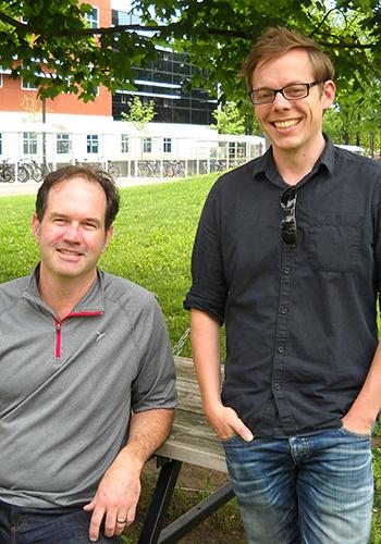 Neil Rooney and Dan Gillis