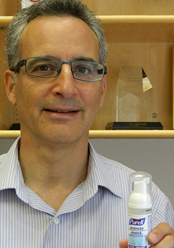 Jeff Farber studies food-borne illness and contamination.