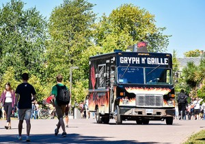 The Univesity of Guelph Gryph N' Grille food truck