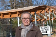 Environmentally Friendly Bicycle Shelter Will Double as Pavilion