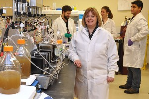 Emma Allen-Vercoe studies gut microbiota at the University of Guelph.