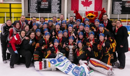 The Gryphons won the OUA gold-medal game 5-1.
