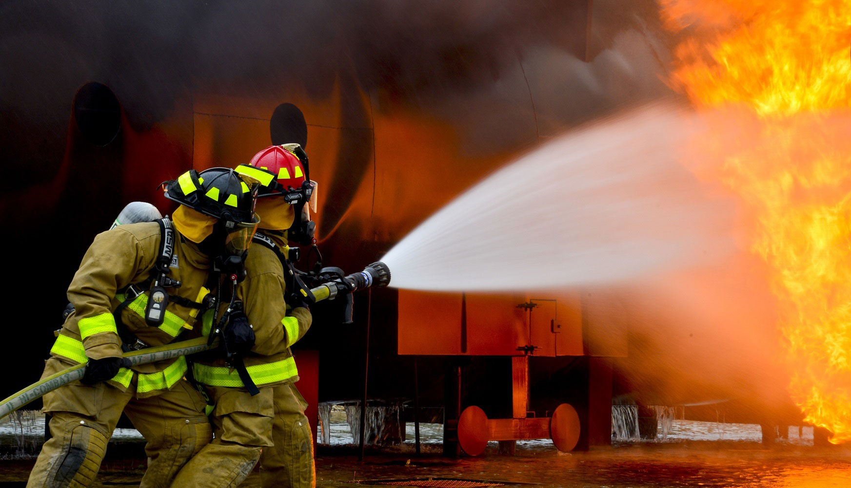 Chemical And Engineering News >> Research Helps Firefighters Stay Safe - U of G News