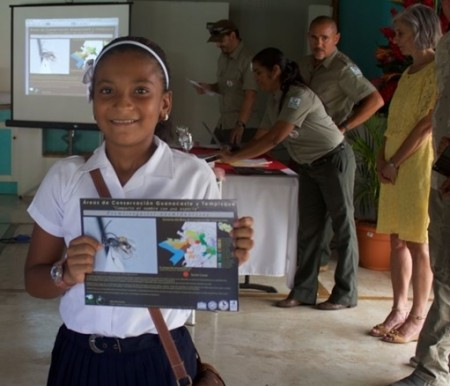 A Costa Rican student had an insect named after her after winning a contest