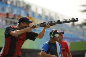 The Olympics continues to use lead shot in competitions