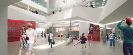 The new Athletic Centre at the University of Guelph.