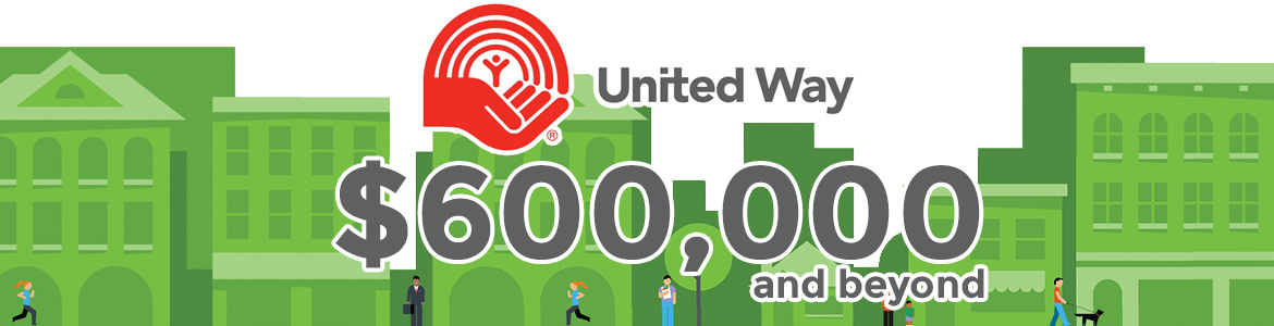 United Way: $600,000 and beyond