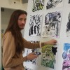 """Grad Student and """"Wendy"""" Creator Exhibits Comic Art at Art Gallery of Ontario"""