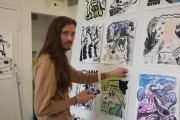 "Grad Student and ""Wendy"" Creator Exhibits Comic Art at Art Gallery of Ontario"