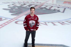 University of Guelph business student and Guelph storm hockey captain Garrett McFadden talks about mental health.