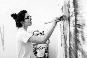 Artist Melanie Authier, a University of Guelph graduate, has an exhibit at the Art Gallery of Guelph.
