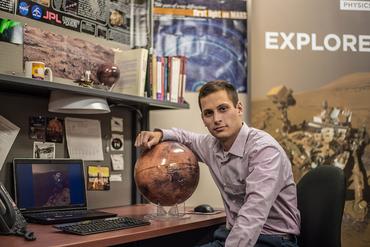 U of G student Scott VanBommel among shortlisted astronaut candidates