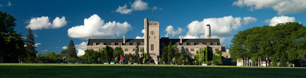 Johnston Hall In The Summer