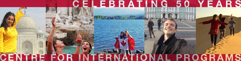 Celebrating 50 years - Centre for International Programs