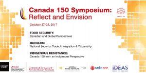 Canada 150 Symposium poster