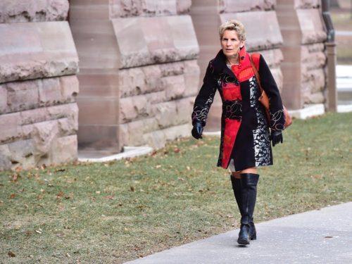 Ontario Premier Kathleen Wynne at provincial legislature