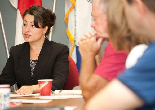 Maryam Monsef, Minister of Status of Women