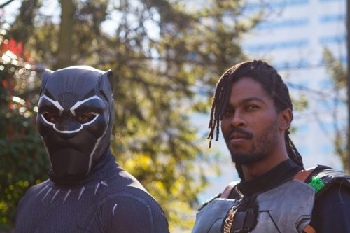 Killmonger from Black Panther movie