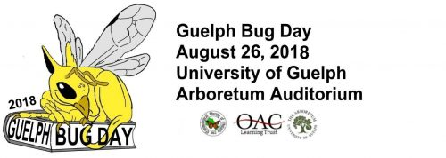 Guelph Bug Day, August 26, 2018, University of Guelph Arboretum Auditorium
