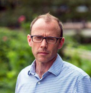 Prof Todd Gillis headshot looking serious