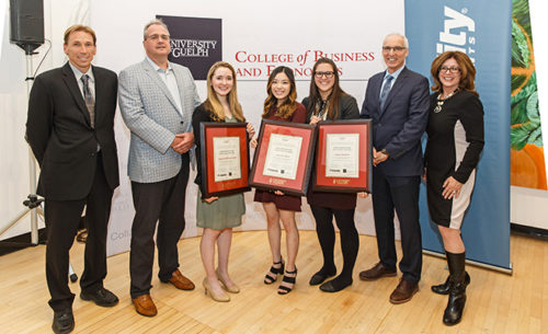 Winners of Fidelity Investments Canada scholarships