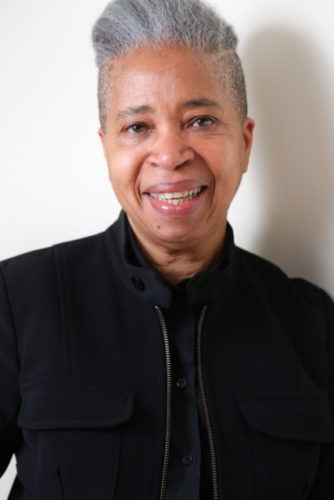 headshot of Prof. Dionne Brand