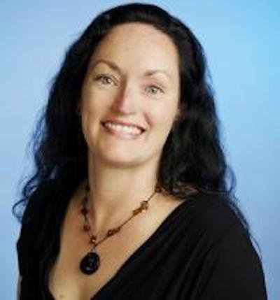 Professor Hannah Tait Neufeld smiling