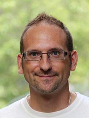 Portrait of professor David Mutch