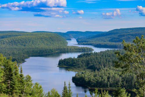 a photo an ontario lake