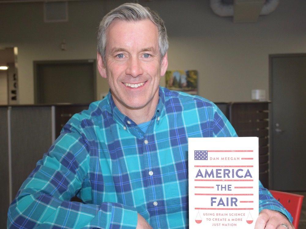Prof. Dan Meegan with his new book