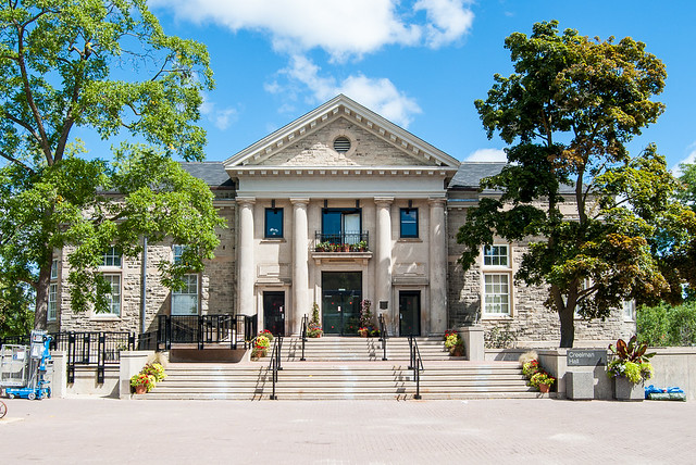 A photo of Creelman Hall on the U of G campus
