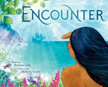 The cover of the book, 'Encounter'