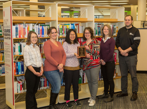 The library's United Way team
