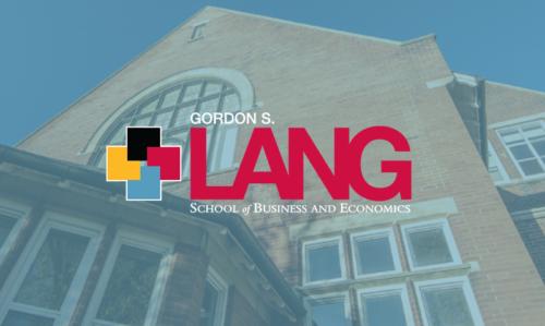 Lang school of business logo