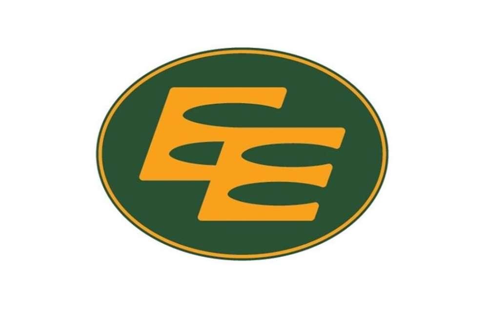 The double-E logo of the Edmonton Eskimos