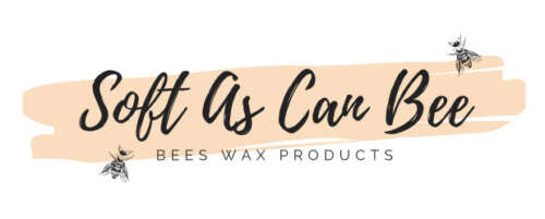 Business logo with honey bee theme