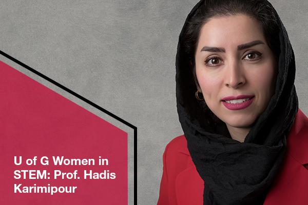 U of G Engineering Prof Encouraging Women to Pursue Careers in STEM
