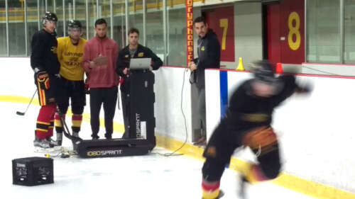 Researchers test skating speed